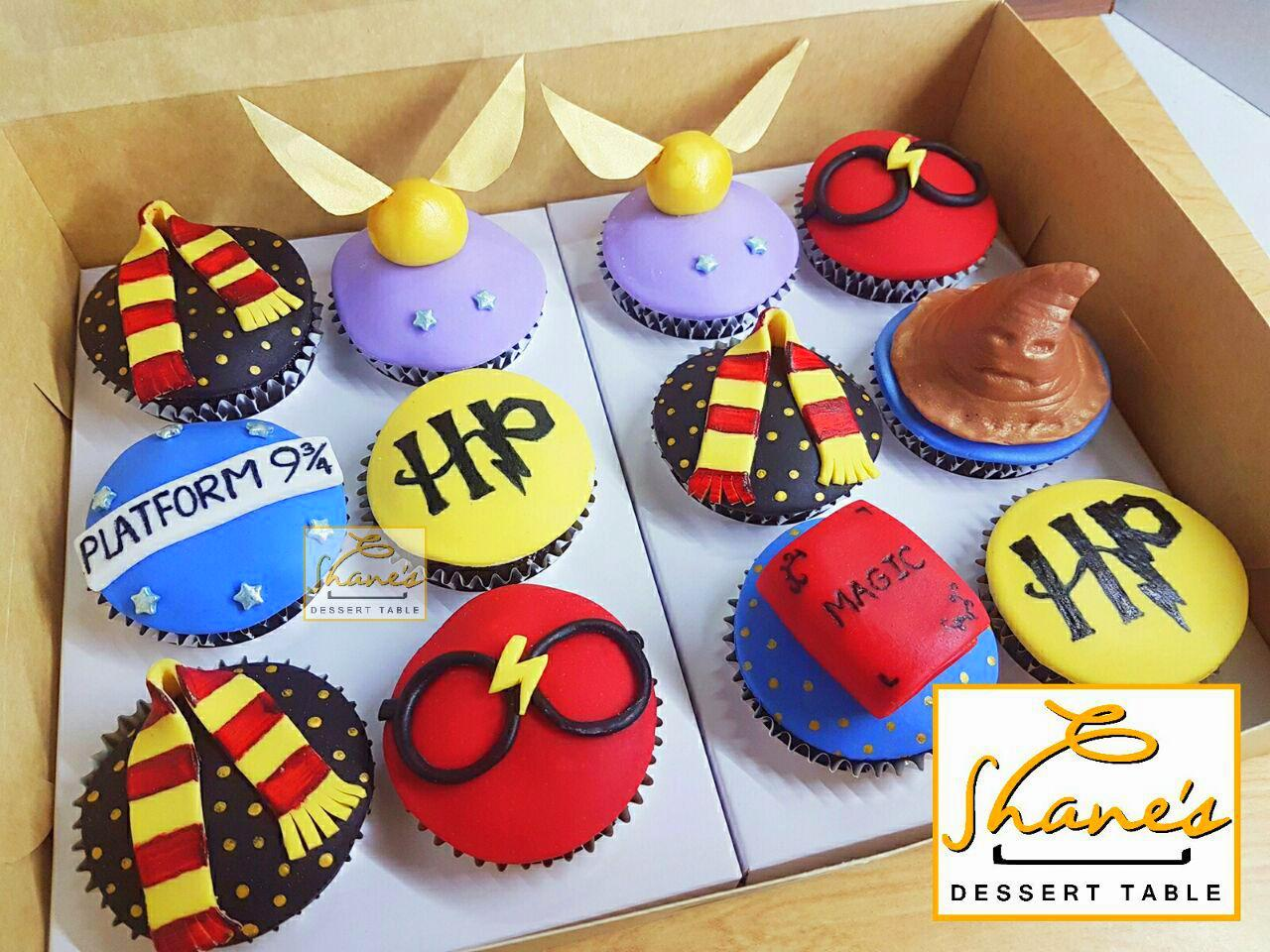 Harry Potter Cupcakes Shane S Dessert Table