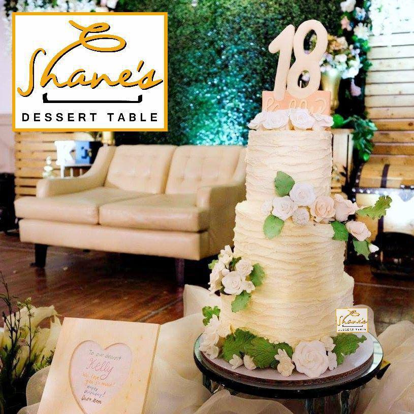 Debut Wedding Cake Shane S Dessert Table