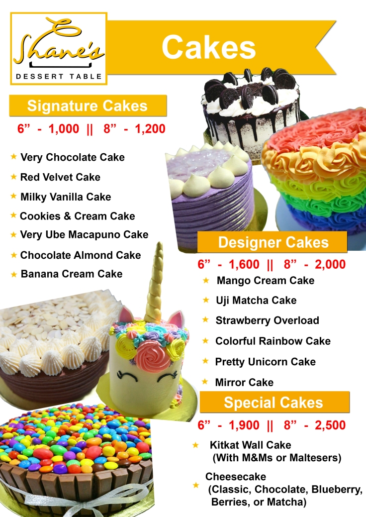 Cakes 2019
